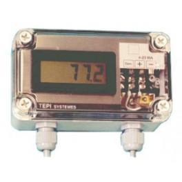 Indicateur de Boucle 4/20 mA étanche IP65 - Afficheurs & Calibrateurs