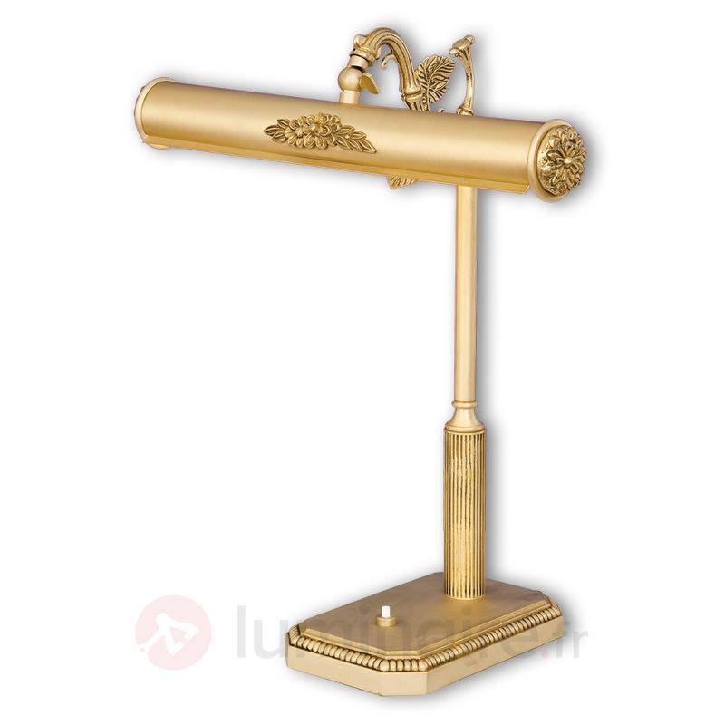 Lampe à poser Fedra richement ornementée - Lampes à poser classiques, antiques