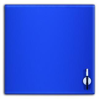 Glas Magnettafel 45x45cm Farbe: Blau - null