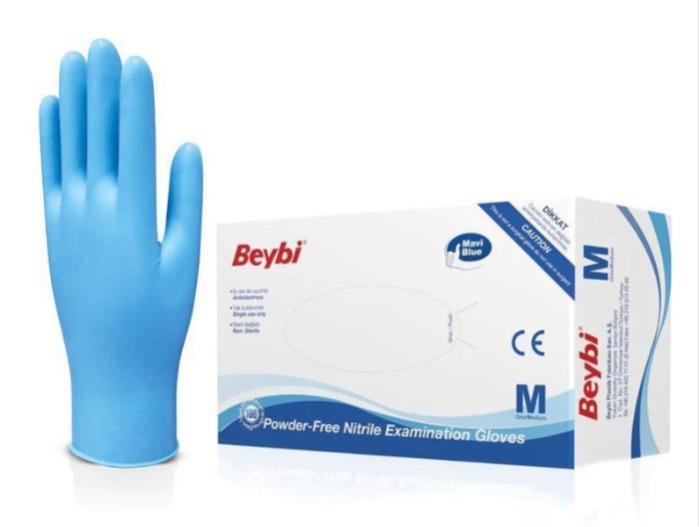 Medizinische Handschuhe aus Nitril - Preis für eine Packung mit 100 Stück