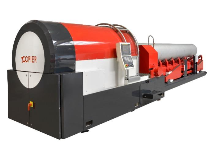 """Beaver 24 S Automatic - Stationary Pipe Beveling Machine for Pipes up to OD 24"""""""