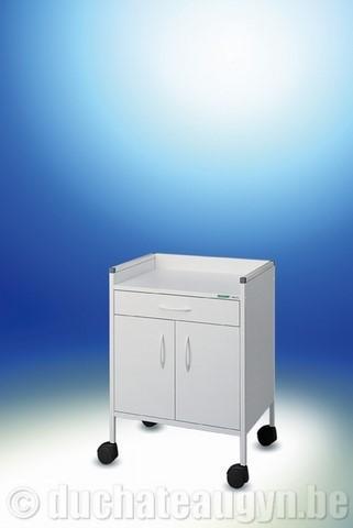 Guéridon 3 tiroirs - Matériel médical