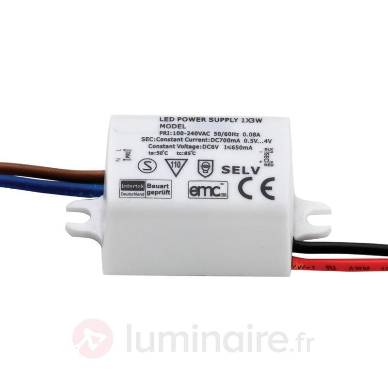 Transformateur LED 3 W 700 mA - Transformateurs LED