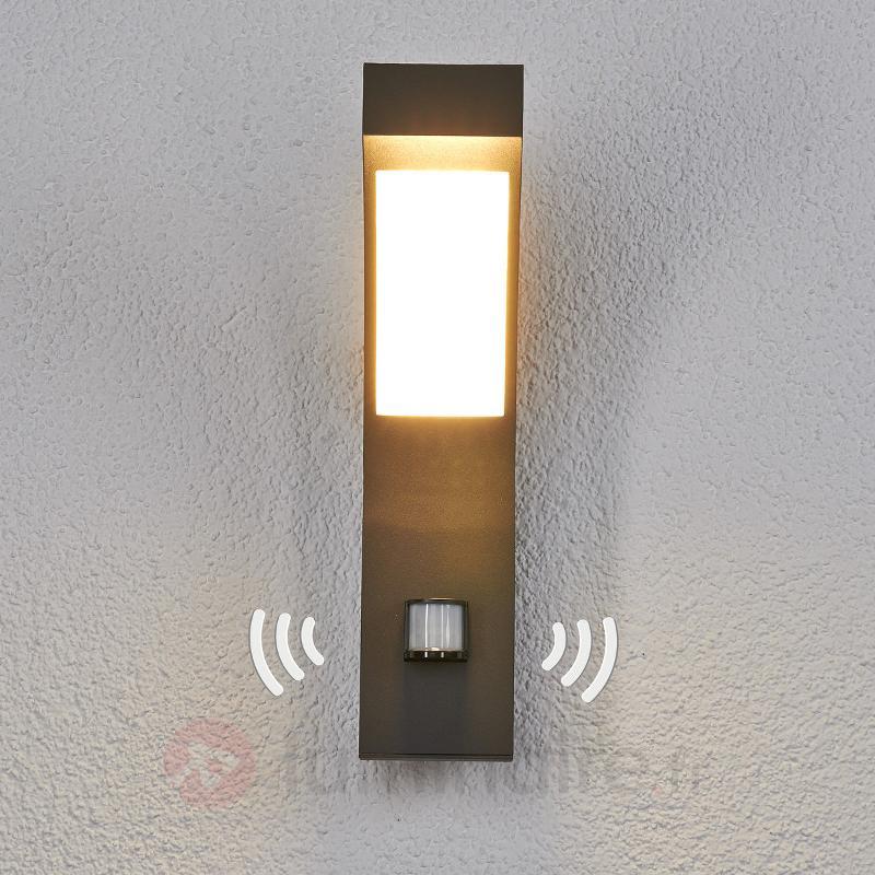 Applique d'extérieur LED Lennik avec capteur - Appliques d'extérieur avec détecteur