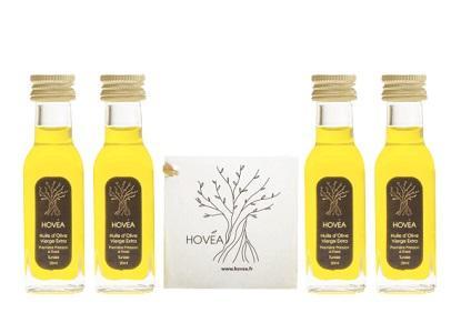 HOVEA 20 ml Huile d'Olive Vierge Extra - Qualité exceptionnelle - Peut être personnalisé.