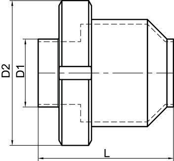 62411 CLAPET ANTI-RETOUR BOUTS LISSES - Accessoires de robinetterie DIN