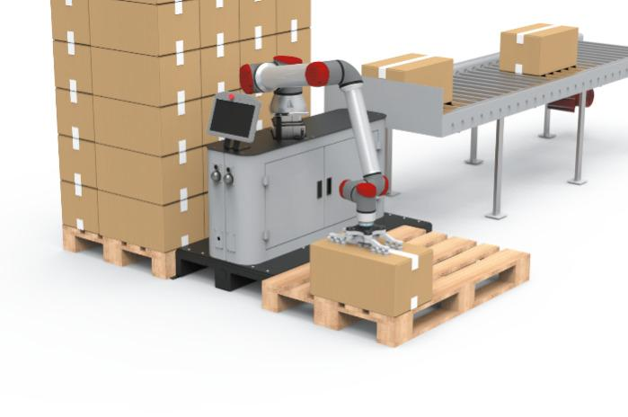 EasyPalletizer - flexible and easy to program palletizing robot