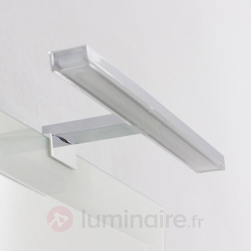Applique pour miroir de salle de bain perfect applique for Applique led miroir