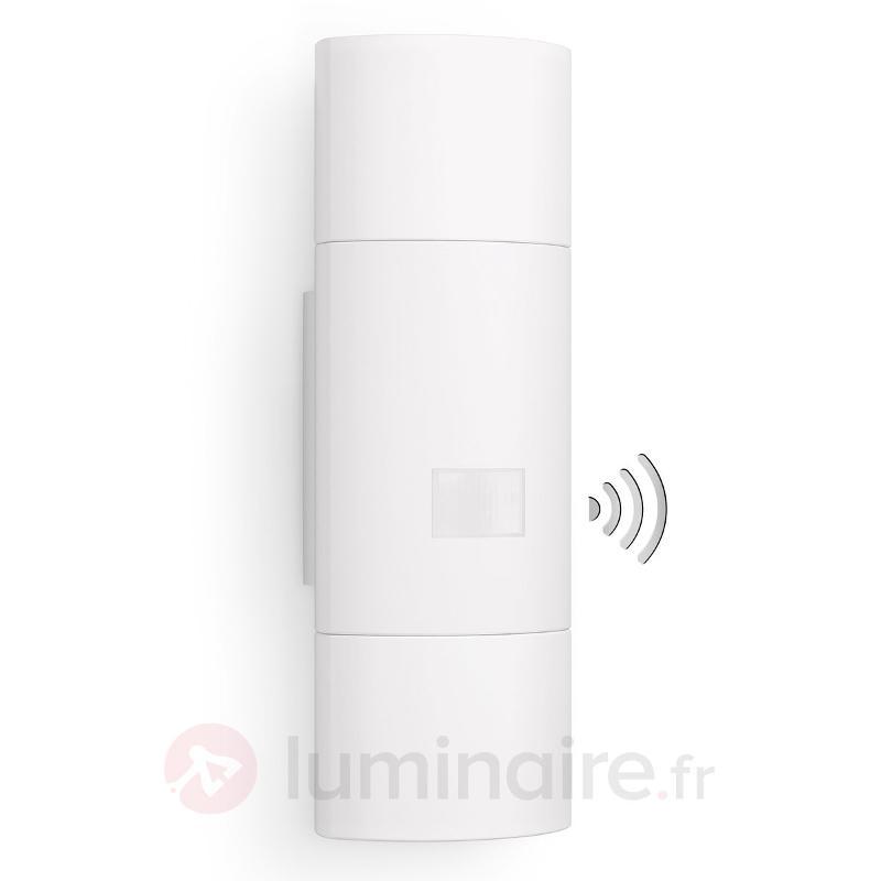 Up-down - Applique ext. LED & capteur L910, blanc - Appliques d'extérieur avec détecteur
