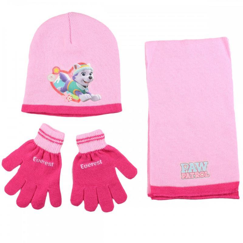 3x Echarpes et bonnets et gants Paw Patrol - Bonnet Gant Echarpe