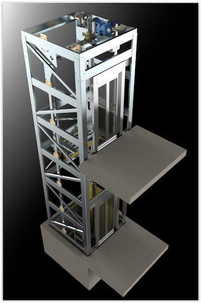 Ascenseur Pylone  - Système d'ascenseur complet avec pylône