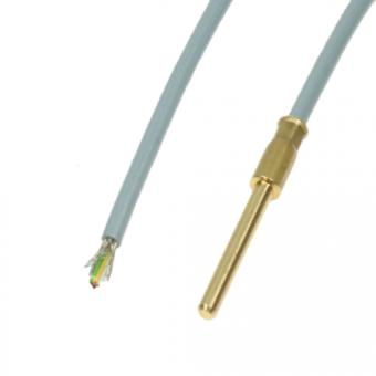 Cable probe 1xPt100/B/4 PVC - Building automation