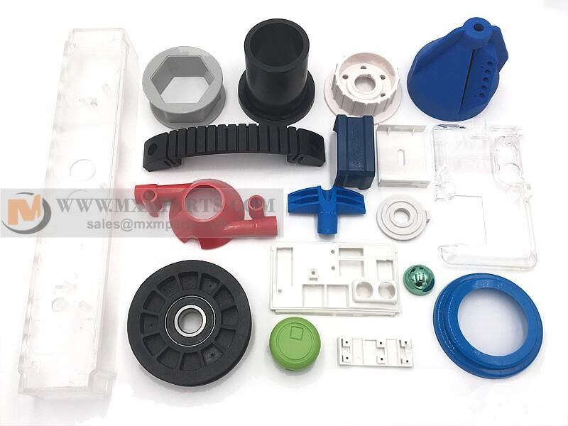 Plastic parts - China Ming Xiao custom produce plastic parts by injection molding