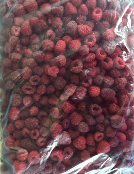 IQF Raspberry whole - IQF Raspberry whole variety Willamette or Meeker 95:5