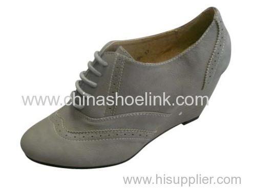 Lady shoe with heel - Pump shoe,wedge shoe