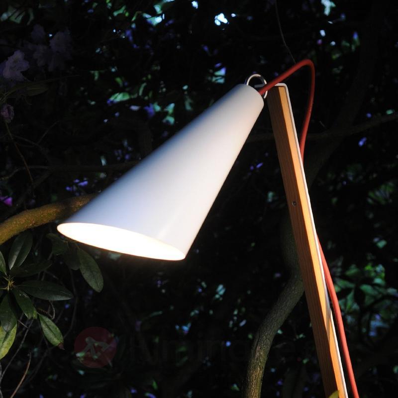 Luminaire décoratif Pit Out pour l'extérieur blanc - Luminaires de terrasse