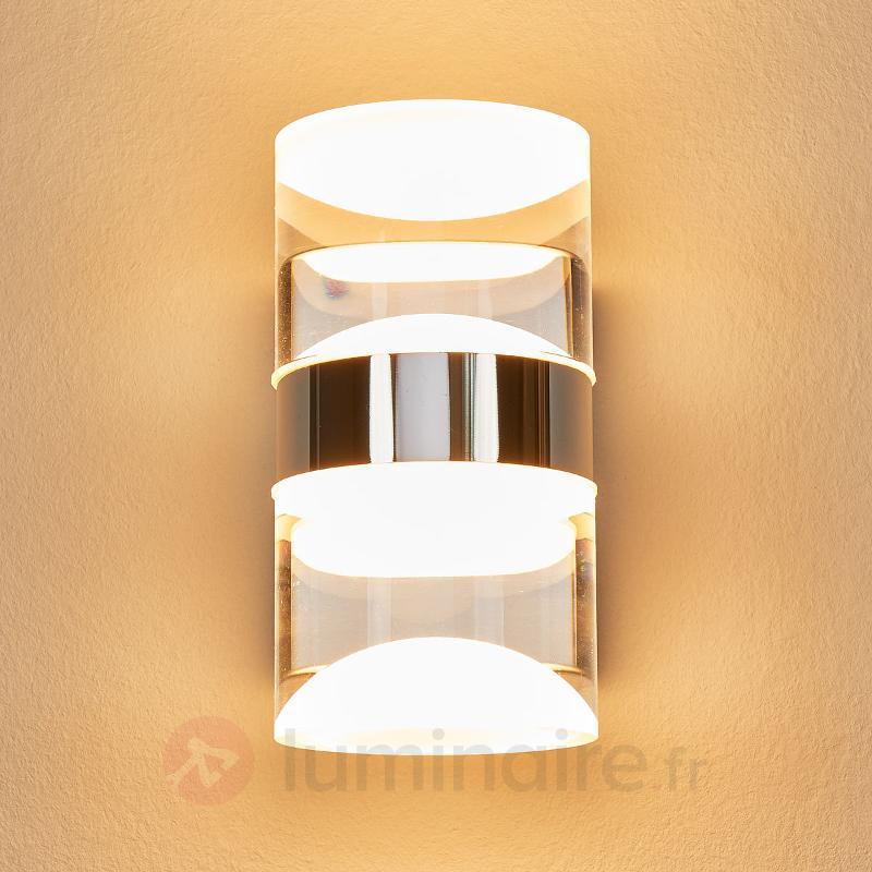 App mur led ria sdb clairage haut et bas salle de for Luminaire sdb ip44