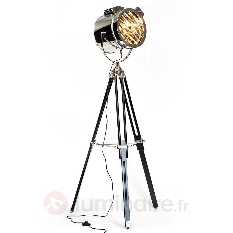Ciné - lampadaire au design de projecteur - Tous les lampadaires