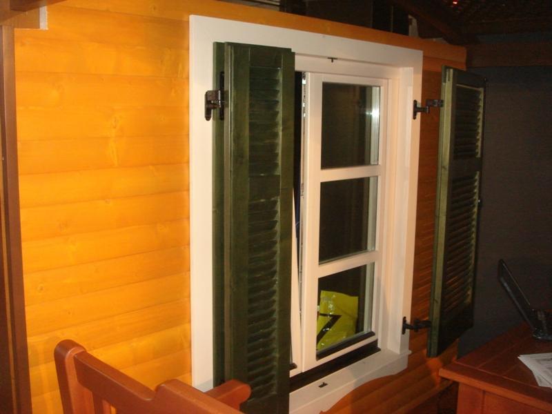 Wood windowя and shutters