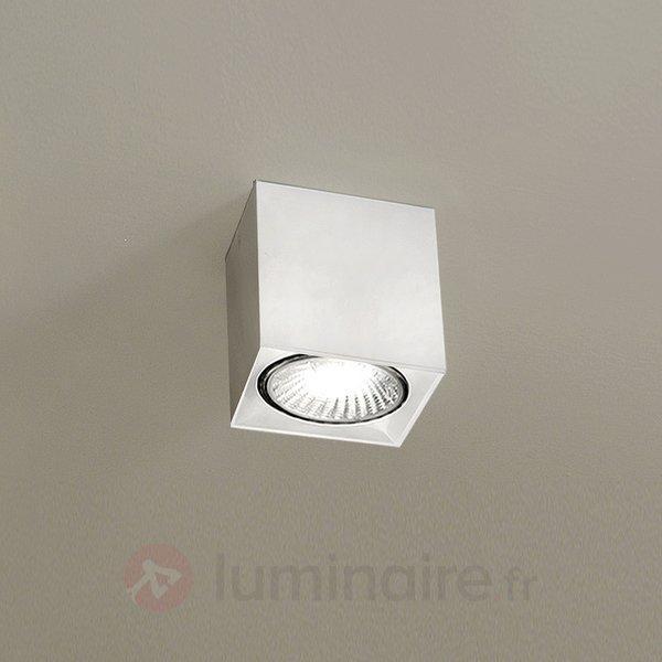 Plafonnier cubique Dau Spot blanc - Spots et projecteurs halogènes