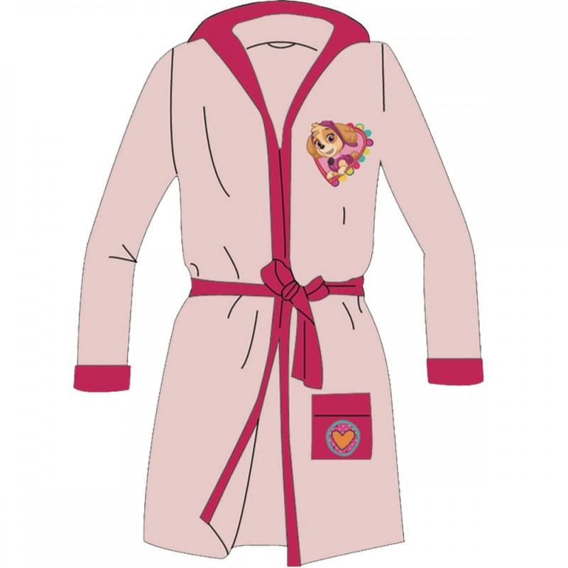 8x Peignoirs de bain Paw Patrol du 2 au 8 ans - Pyjama