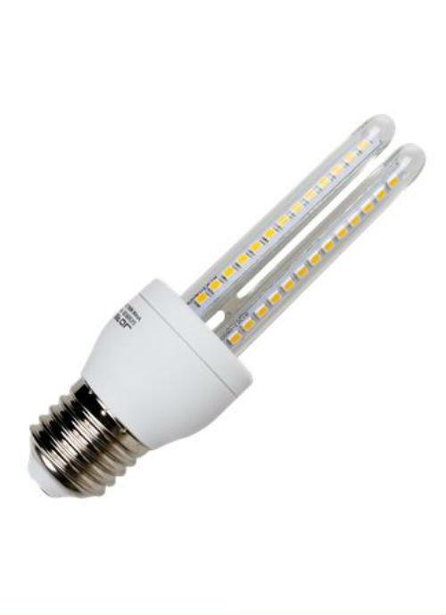 Lampadine LED E27 T3 - 8/9W trasparente 3000/6400K 640/780lm