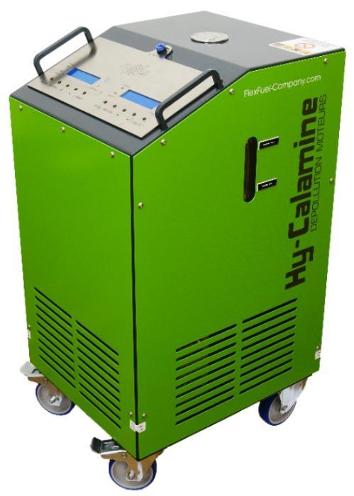 Descarbonización • Hy-Carbon 1000S - Descarbonización por inyección de hidrógeno