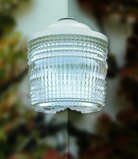 Outdoor corner wall light - Model 1077 Angle GM