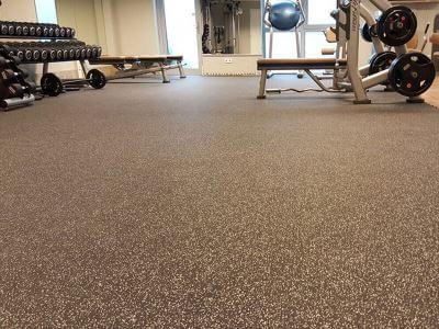 Vloer fitnessruimte