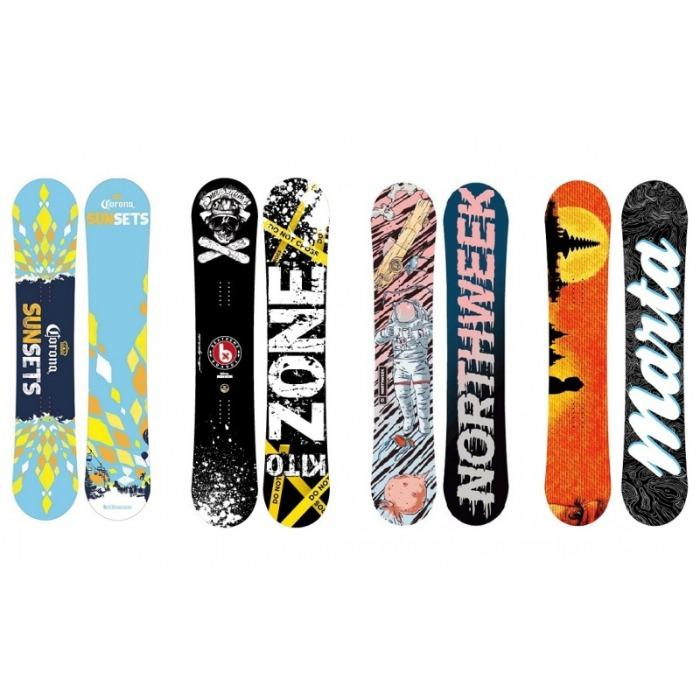 Snowboard Personalizable - Tablas Snowboard