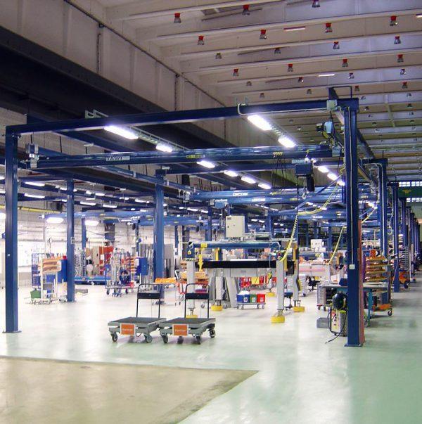 Floor mounted cranes - null