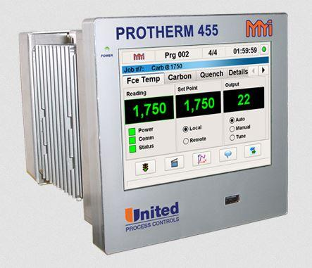 Protherm 455™ Controller - 1/2 DIN Touch Screen Controller