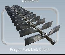 Forged fork link chains - Conveyor chains and components