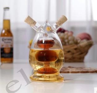Hight quality glass vinegar/oil bottle  - null