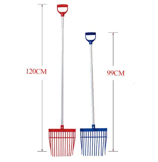 horse/cattle/sheep/goat/animal farm manure/bedding hay fork - farm cleaning fence manure fork