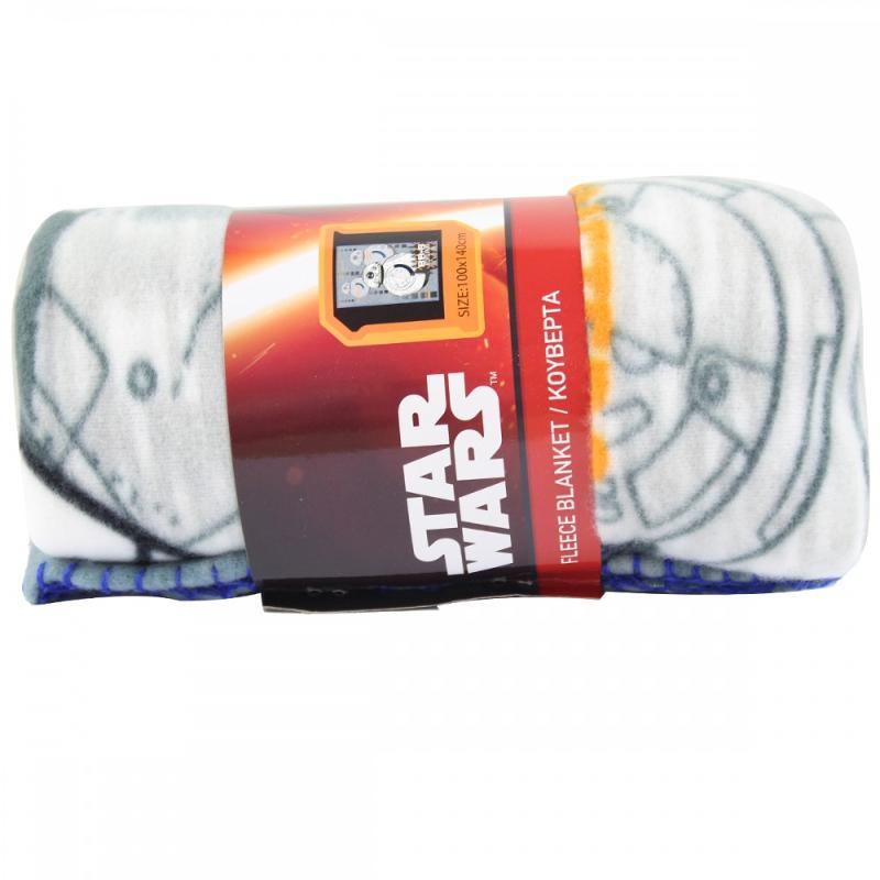 6x Plaids polaires Star Wars 140x100 - Linge de maison