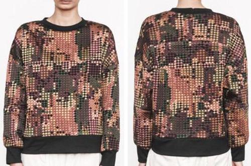 Sweatshirt brodé  -