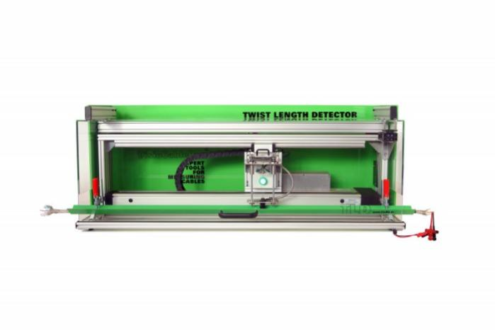 Twist Length Detector TLD - Device for measuring the twist length of sheathed cables