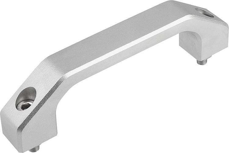 Pull Handles stainless steel, Style A - K0198_A