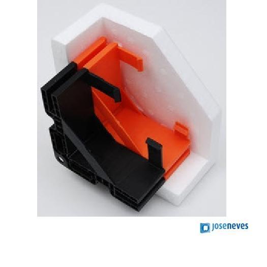Solução em plástico moldado e poliestireno expandido (EPS)