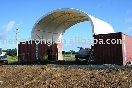 8m Wide Container Shelter - null