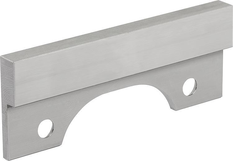 Mâchoire de serrage lisse - Etau de bridage 5 axes compact