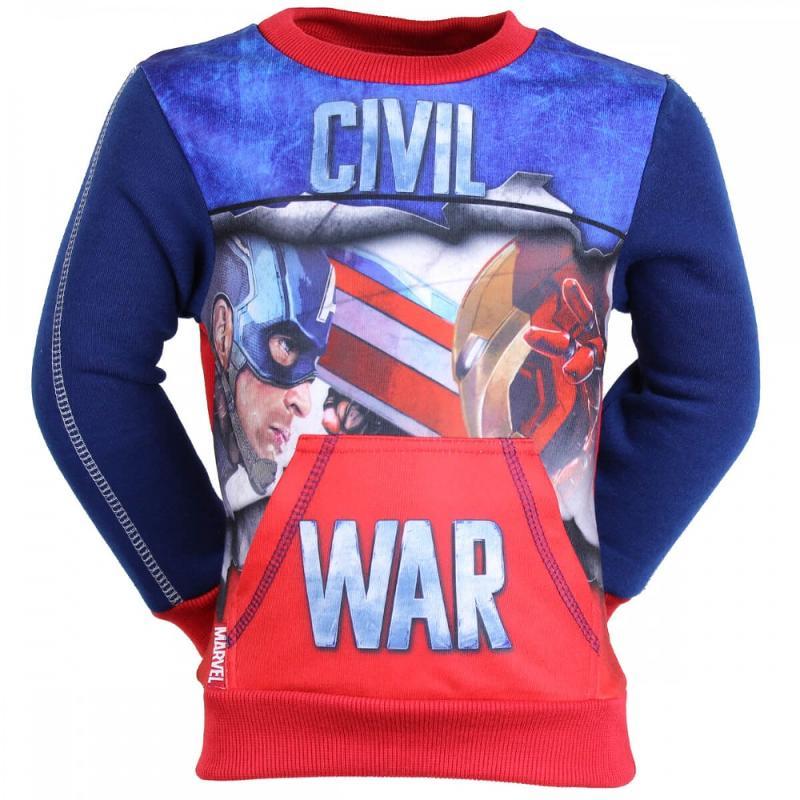 10x Sweats Captain America du 3 au 8 ans - Sweat Pull et Gilet