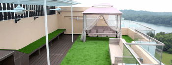 Gazon synthétique pour balcon