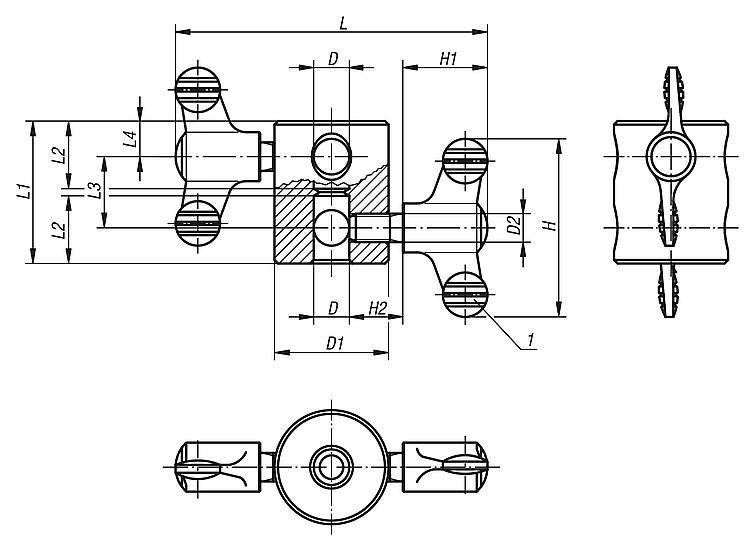 Multiple Connectors - Operating parts