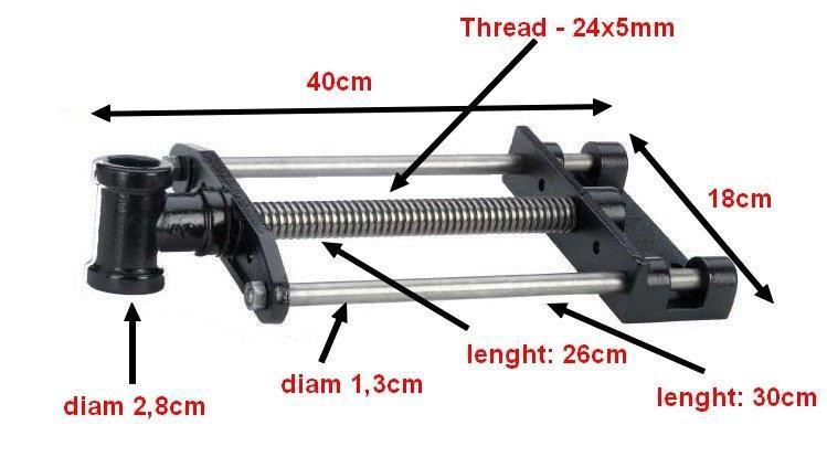 Ersatzteile - Vorder-/Hinterspindel klein