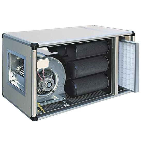 Activated Carbon Filter Unit with Fan