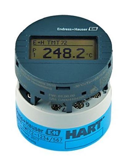 iTEMP TMT72 Transmetteur de température - Conversion du signal capteur en un signal de sortie stable et standardisé