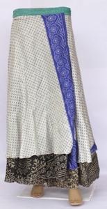 Vintage Silk Sari,Multi Layer Skirt,Sargon Tube Dress