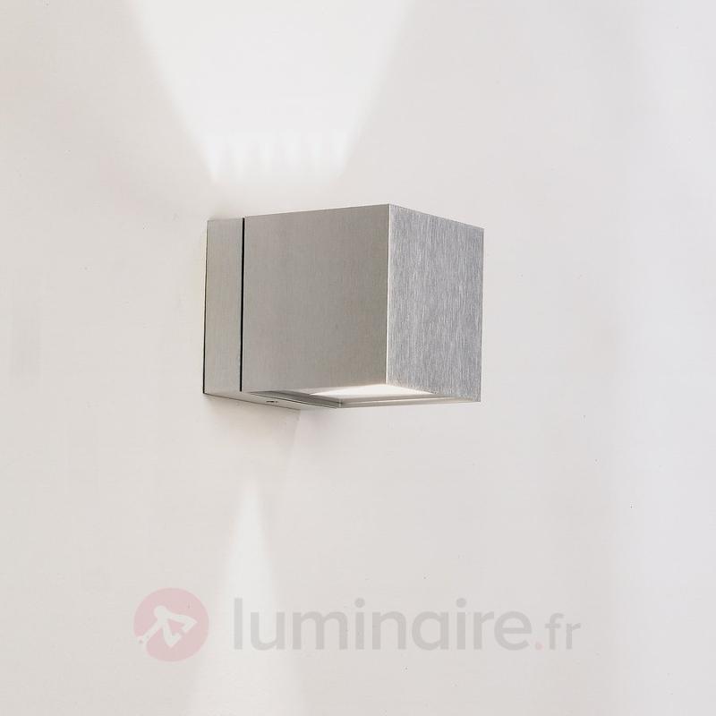 Applique cubique Dau montante et descendante - Appliques chromées/nickel/inox